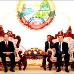 Tình hữu nghị Việt Nam – Lào không gì lay chuyển được
