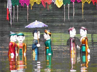 Nghệ thuật múa rối nước Hồng Phong
